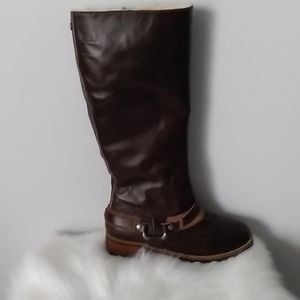 UGG 💯% Leather & Sheepskin Riding Boots